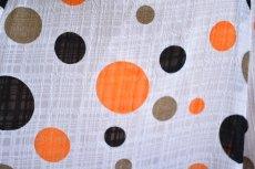 画像5: 《即納品》ペチコート、織模様生地、ロング・ギャザーフリル1段 (5)