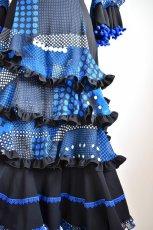画像5: フラメンコドレス、Lサイズ (5)