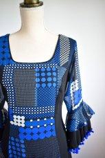 画像3: フラメンコドレス、Lサイズ (3)