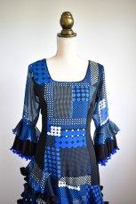 画像2: フラメンコドレス、Lサイズ (2)