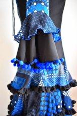 画像11: フラメンコドレス、Lサイズ (11)