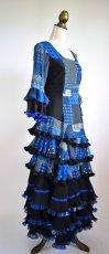 画像8: フラメンコドレス、Lサイズ (8)