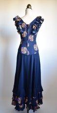 画像10: 《即納品》ネイビー色ドレス (10)