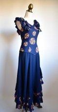 画像6: 《即納品》ネイビー色ドレス (6)