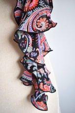 画像3: 《即納品》スカーフ、スパイラル、ピンクペイズリー (3)