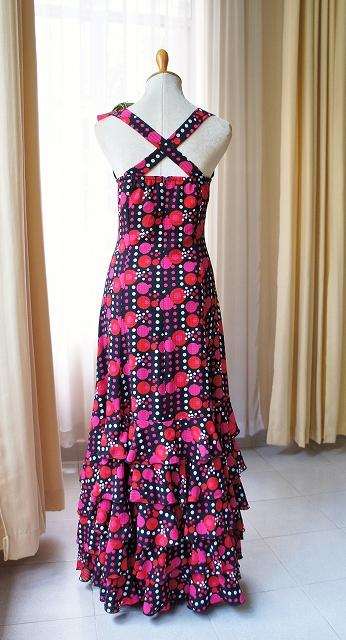 画像1: ワンピースドレス(ホルターネック) (1)