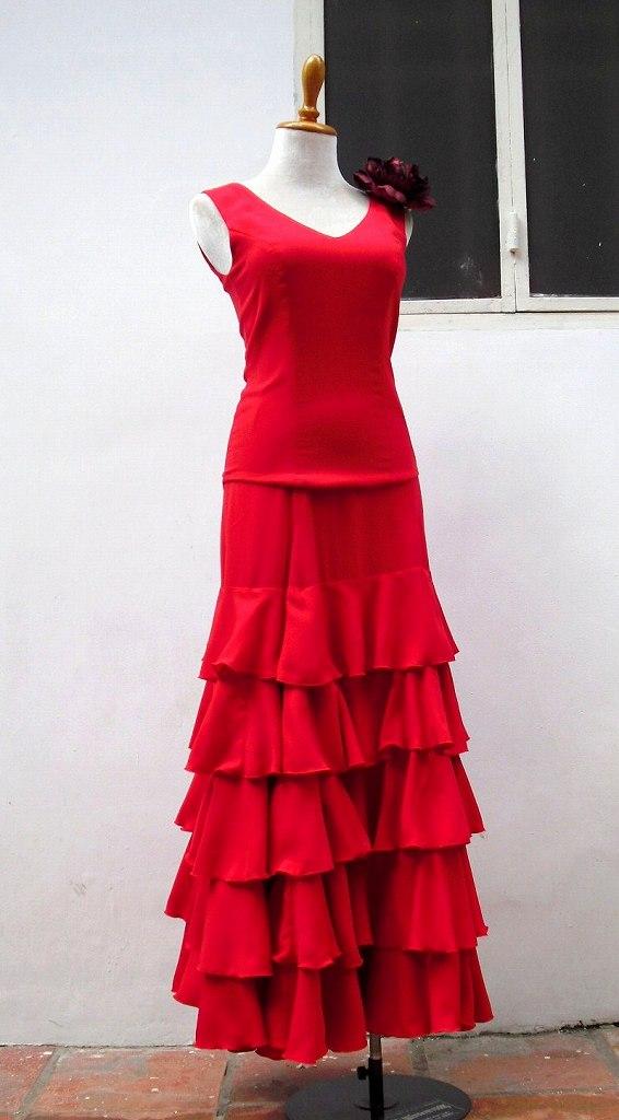 画像1: 《オーダーメイド》ツーピースドレス (1)