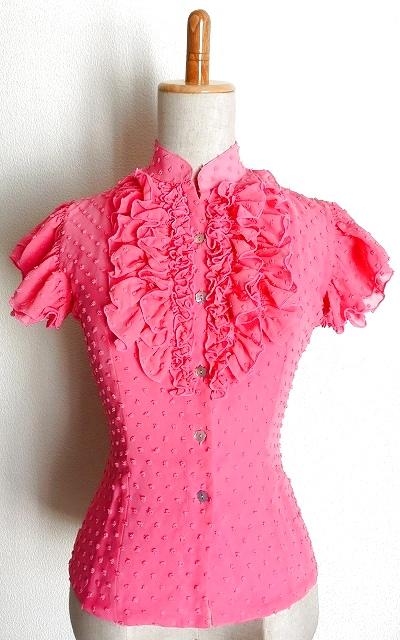 かわいらしい色合いのピンクです。生地は完売し、現品限りのお品となりましたのでSALEいたします☆彡