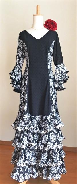 画像1: 《即納品》《1点もの》フラメンコドレス (1)