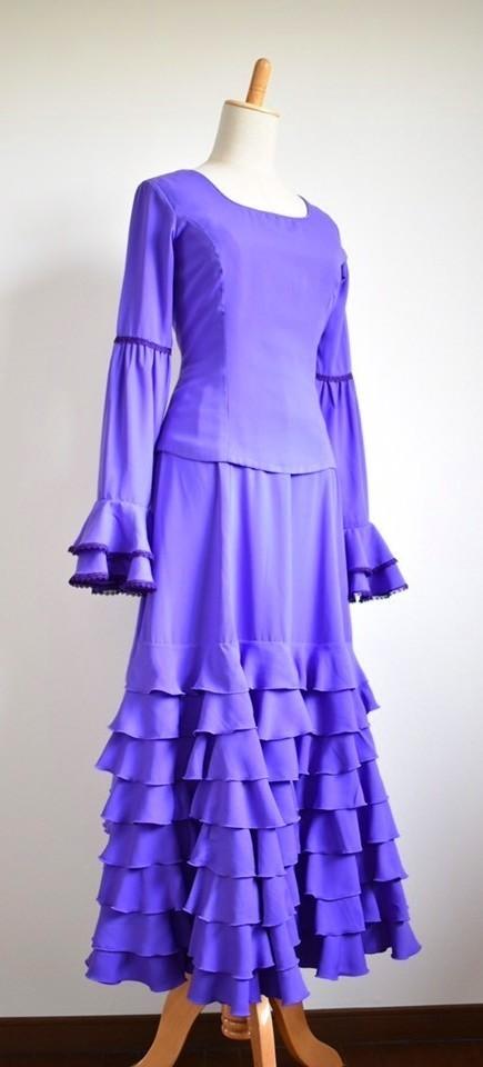 画像1: 《お客様サイズにお作りします》ツーピースドレス、各色 (1)