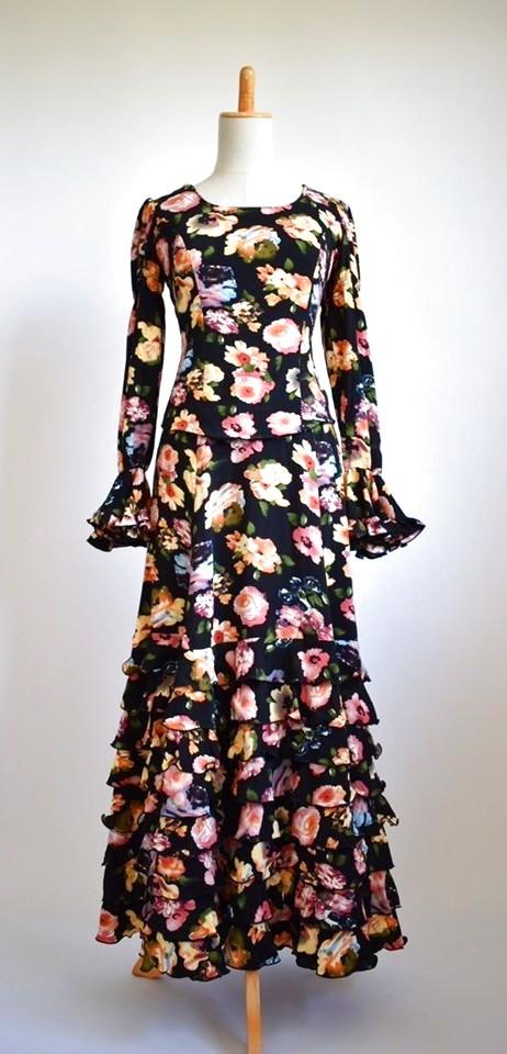 画像1: 《即納品》ツーピースドレス、Mサイズ (1)